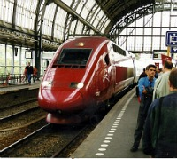 Bullet Train in Europe