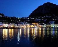 Capri Italy at Night