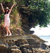 Costa Rica Rocky Coast