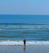 Fishing in Crescent Beach