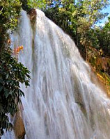 Dominican Republic Waterfall