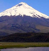 Cotopaxi Mountain in Ecuador