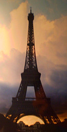 Eiffel Tower Sunse