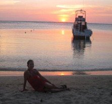 Roatan Honduras Sunset