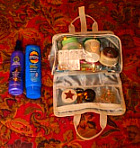 Toiletries for Cruise Vacation