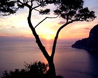 Capri Italy Sunset