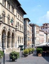 Italy Perugia Maleotti Square