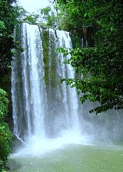 Antigua Guatemala Waterfall